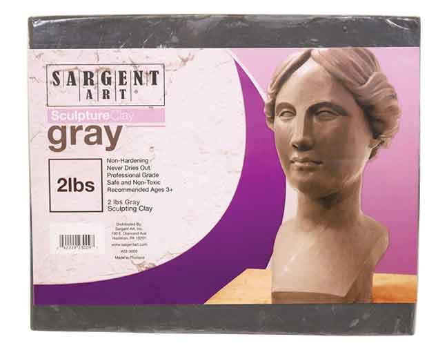 Sargent Art 22-4050 1-Pound Solid Color Modeling Clay Blue
