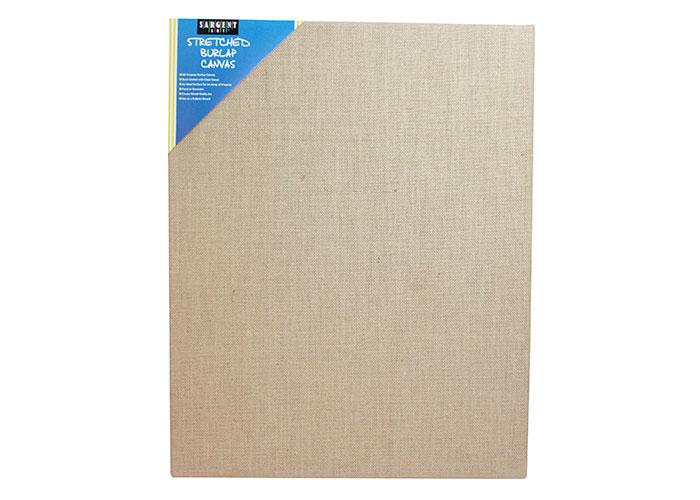 12 x 16 Sargent Art 90-2029 Stretched Burlap Canvas