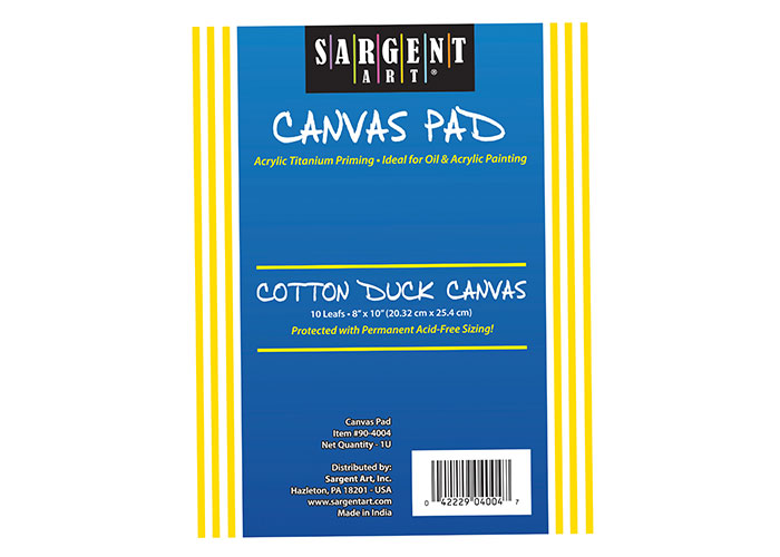 Canvas Pads | Sargent Art